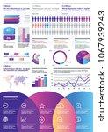 vector infographics template... | Shutterstock .eps vector #1067939243