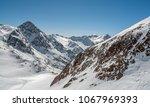 view of the alpine skiing... | Shutterstock . vector #1067969393