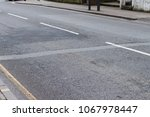 empty street  clos up. | Shutterstock . vector #1067978447