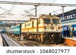 delhi  india   february 17 ...   Shutterstock . vector #1068027977