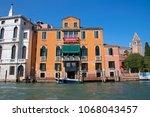 canal grande  grand near ponte... | Shutterstock . vector #1068043457
