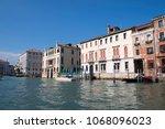 grand venice  italy  may 13th... | Shutterstock . vector #1068096023