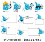water character vector pack ...   Shutterstock .eps vector #1068117563