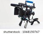 custom dslr rig filmmaking... | Shutterstock . vector #1068150767