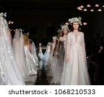 new york  ny  usa   april 12 ... | Shutterstock . vector #1068210533