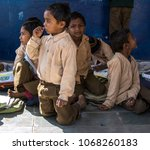 ranthambhore  rajasthan   india ... | Shutterstock . vector #1068260183
