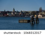 buoys  dolphins and  bollards... | Shutterstock . vector #1068312017
