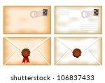vector illustration of back and ... | Shutterstock .eps vector #106837433