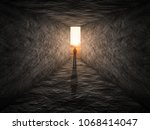 bright output in the form of... | Shutterstock . vector #1068414047