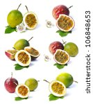 passion fruit collection | Shutterstock . vector #106848653