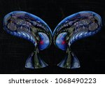 Portrait Of Twin Aliens With...