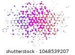 light multicolor  rainbow...   Shutterstock .eps vector #1068539207