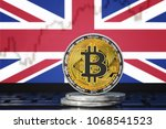 bitcoin  btc  cryptocurrency ... | Shutterstock . vector #1068541523