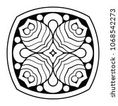 vector arabesque ornament | Shutterstock .eps vector #1068542273