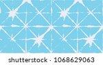 geo pattern  japanese kimono...   Shutterstock .eps vector #1068629063