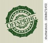 green offspring rubber grunge ...   Shutterstock .eps vector #1068671453