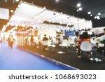 abstract blurred defocused... | Shutterstock . vector #1068693023