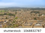 aerial view of the city of bath ... | Shutterstock . vector #1068832787