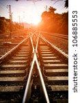 the way forward railway | Shutterstock . vector #106885553