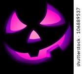 jack o lantern pumpkin... | Shutterstock .eps vector #106889537
