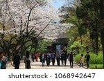 seoul  korea  april 10  2018 ... | Shutterstock . vector #1068942647