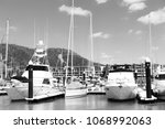 in  australia airlie beach and... | Shutterstock . vector #1068992063