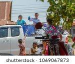 thailand april 15 2018  the...   Shutterstock . vector #1069067873