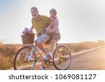 joy and happiness for adult... | Shutterstock . vector #1069081127