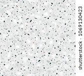 terrazzo flooring vector... | Shutterstock .eps vector #1069130423