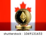 physical version of ethereum ... | Shutterstock . vector #1069131653