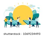 vector illustration.... | Shutterstock .eps vector #1069234493