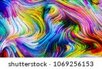 color in motion series.... | Shutterstock . vector #1069256153