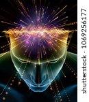 elements of mind series. 3d... | Shutterstock . vector #1069256177