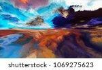 inner world series. arrangement ... | Shutterstock . vector #1069275623