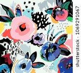 creative universal artistic... | Shutterstock .eps vector #1069291067
