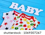 toddler baby cotton summer... | Shutterstock . vector #1069307267