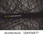 dynamic abstract background... | Shutterstock .eps vector #106936877