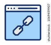 url web page internet  | Shutterstock .eps vector #1069459907
