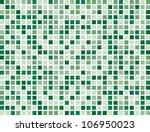 Abstract Green Boxes Backgroun...