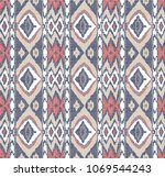 abstract background ethnic... | Shutterstock .eps vector #1069544243