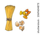 vector sketch hand drawn...   Shutterstock .eps vector #1069604873