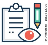 project quality assurance... | Shutterstock .eps vector #1069612703