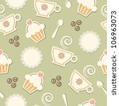 seamless pattern background... | Shutterstock .eps vector #106963073
