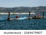 city of isparta egirdir lake...   Shutterstock . vector #1069679807