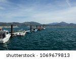city of isparta egirdir lake...   Shutterstock . vector #1069679813