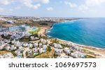 seascape and luxurious location ... | Shutterstock . vector #1069697573