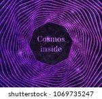 futuristic cosmos illustration. ...   Shutterstock .eps vector #1069735247