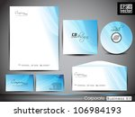 professional corporate identity ... | Shutterstock .eps vector #106984193