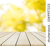 blur yellow color nature... | Shutterstock . vector #1069957223