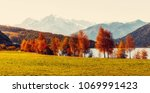 Wonderful Alpine Landscape In...